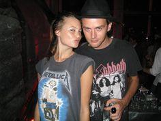 Band tshirts (bon jovi, journey, guns n roses, alice in chains, metallica, chevelle, etc.) Medium in womens :)