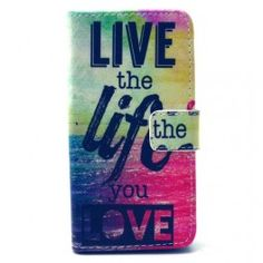 Galaxy Case,JanCalm [Perfect Fit] [Kickstand] Pattern Premium PU Leather Wallet [Card/Slots Cash] Flip Cover for Samsung Galaxy S 5 *Including - ONE Crystal Pen(Live The Life You Love)