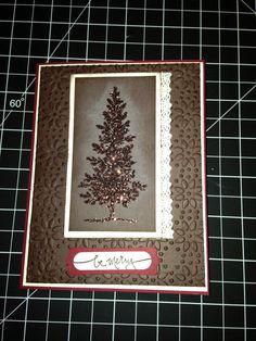 Christmas card 2013 stampin up
