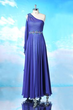 Formal Floor Length Evening Dress Party Gowns