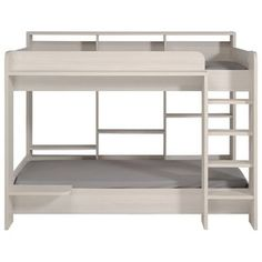 5b3f713b63b3 Zoomie Kids Alvarez Staircase Combo Twin over Full L-Shaped Bunk Bed