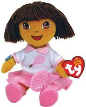 Dora Del Tennis from - Dora The Explorer Online. Bet you didn t know. Dora  The ExplorerRangePopularHeartBaby FriendsHandmadeAmazonCollectionBeanie  Babies f9990face2a4