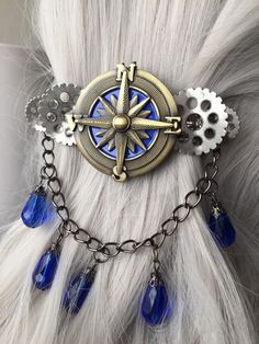 Nautical Festival Headpiece or Compass by ArcanumByAerrowae