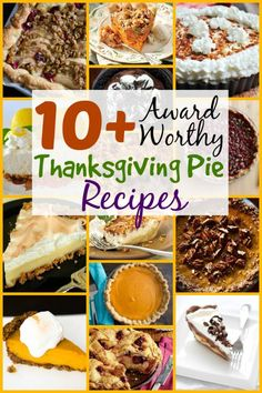 10+ Award-Worthy Thanksgiving Pie Recipes - http://www.thebudgetdiet.com/10-award-worthy-thanksgiving-pie-recipes?utm_content=snap_default&utm_medium=social&utm_source=Pinterest.com&utm_campaign=snap