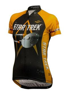 Womens Star Trek Command Cycling Jersey Large ** Check this awesome product by going to the link at the image.Note:It is affiliate link to Amazon.