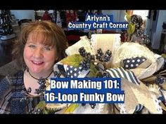 Here is my next installment in my Bow Making 101 Series. :) In this one I make a Funky bow and then I make it into a topper (actually, . Christmas Swags, Christmas Crafts, Burlap Christmas, Primitive Christmas, Country Christmas, Christmas Christmas, Xmas, Making Hair Bows, Ribbon Making