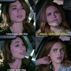 Interesting how she thought of Stiles