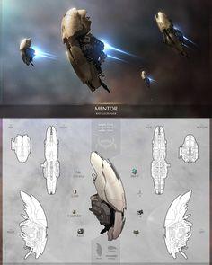 Sci Fi Concept Art Ships Planets 21 New Ideas Space Ship Concept Art, Concept Ships, Spaceship Art, Spaceship Design, Cyberpunk, Alien Ship, Starship Concept, Concept Art Tutorial, Cute Fantasy Creatures