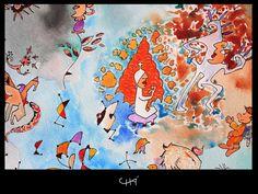 Watercolor (detail)  ®Carlos Chá