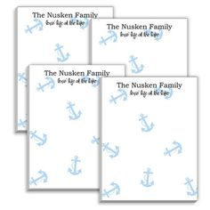 Anchor Mini Notepads