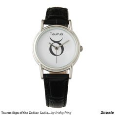 Taurus Sign of the Zodiac  Ladies Watches. Wristwatches