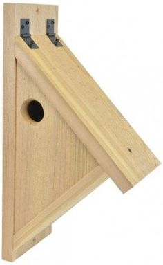 Backyard Boys Woodworking BBW76 Nuthatch Nest Box