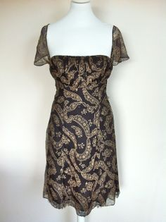 Nanette Lapore Black and Cream Lace Dress via The Queen Bee. Click on the image to see more!