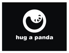 I was amazed to find this cute little panda encircled in this logo…don't you think this is brilliantly done.
