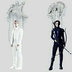 They're puppets. Used by the Capitol. God that's deep.