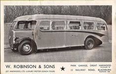 This 1947 advertisement for the Duple coachwork embodies the spirit of the British bus design: In good old England there was a homegrown streamline style - th… Diesel Punk, London Transport, Public Transport, Streamline Bus, Coach Tours, Bus Coach, Horse Drawn, Coaches, Buses