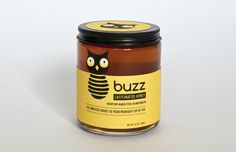 Buzz Caffeinated Honey (Student Project) on Packaging of the World - Creative Package Design Gallery