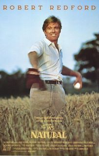 """The Natural is a 1984 film adaptation of Bernard Malamud's 1952 baseball novel of the same name, directed by Barry Levinson and starring Robert Redford, Glenn Close and Robert Duvall. The film, like the book, recounts the experiences of Roy Hobbs, an individual with great """"natural"""" baseball talent, spanning decades of Roy's success and his suffering. I just watched this one again last weekend. So good!"""