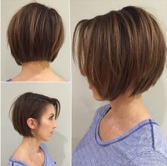 I cant wait for my hair to be long enough for thid lookBlunt Bob Haircut for…