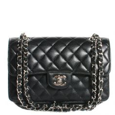 This is an authentic CHANEL Caviar Quilted Small Double Flap in Black.   This stunning shoulder bag is crafted of diamond quilted luxurious caviar leather. WANT!