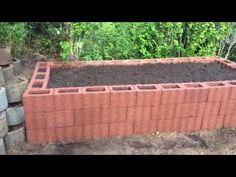 Mein Hochbeet, selber gebaut ! Mein Garten Teil 1 - YouTube