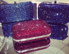 Judith Leiber Display Clutch Purse, Purse Wallet, Judith Leiber, All That Glitters, Pick One, Evening Bags, Clutches, Zip Around Wallet, Bling