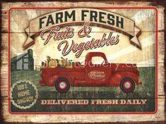 Farm Fresh Produce by Mollie B.