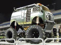 vw bus monster wheels