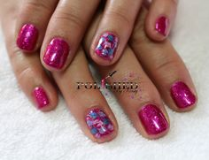 CND SHELLAC BUTTERFLY QUEEN WITH MARBLING WITH GARDEN MUSE COLLECTION