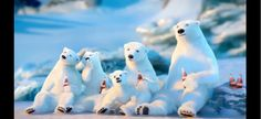 Our favourite Coca-Cola Polar Bears are back! Watch this family of polar bears have fun together in the snow. Be sure to check out the full video Vintage Coca Cola, Polar Bear Wallpaper, Coca Cola Commercial, Bear Songs, Coca Cola Christmas, Christmas Art, Vintage Christmas, Coca Cola Polar Bear, Diet Pepsi