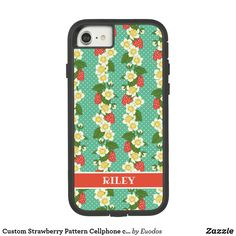 Custom Strawberry Pattern Cellphone case