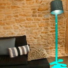Awesome paint drip lamp