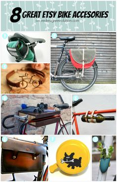 #Etsy Wednesday: 8 Great Bike Accessories