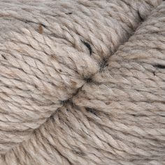 100/% Wolle Donegal Yarns 100 g Aran Tweed braun-natur