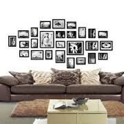 picture frames wall - Google Search