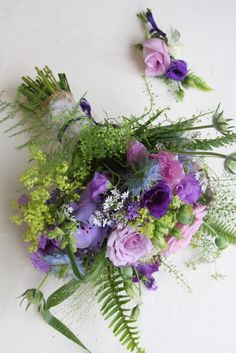 wild bridal flowers bouquets | The Flower Magician: A Wild Naturally Hand Gathered Wedding Bouquet in ...