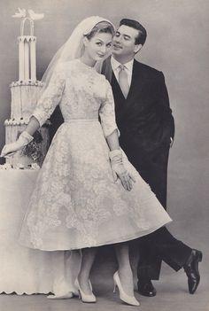 vintage 60s wedding