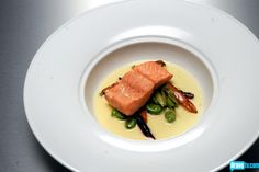 Poached Salmon with Seasonal Vegetables & Beurre Blanc - TopChef Season 10