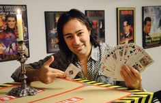 Profiling local magician Mike D'Urzo about how he turned a teen obsession into a magical career