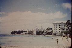 The Royal Hawaiian and The Moana hotels, Waikiki 1945