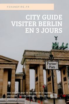 Un weekend prévu à Berlin ? Tous mes conseils pour profiter de la capitale allemande en trois jours ! Bonnes adresses, idées d'itinéraires et conseils ! #berlin #allemagne #cityguide #citytrip #europe Long Week-end, Destinations, Making Money On Youtube, Voyage Europe, Weekend Plans, City Break, Make Money From Home, Travel Inspiration, Germany