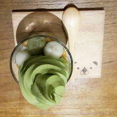 レシピとお料理がひらめくSnapDish - 5件のもぐもぐ - Matcha IceCream with Mochi (glutanious balls) #greentea #icecream #Dessert #glutaniousballs #matcha #Japanese cuisine #japan style #japanese #japandessert #japa by Jill Nyoman