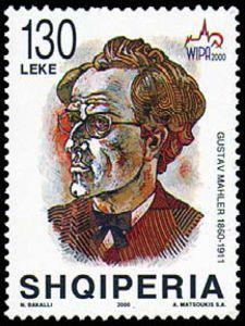 Michel-AL2760 - Gustav Mahler