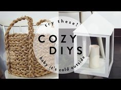 COZY DIYs YOU NEED IN YOUR LIFE! | THE SORRY GIRLS - YouTube