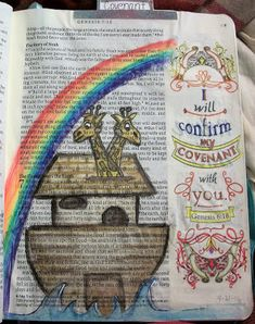 For the Love of Cardmaking: The Covenant- Noah's Ark