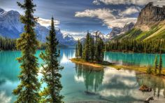 Spirit island, Canada – Most Beautiful Picture of the Day: April 14, 2017 - http://mostbeautifulpicture.com/2017/04/14/spirit-island-canada-most-beautiful-picture-of-the-day-april-14-2017/