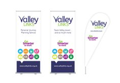Exhibition MAterial for Valley Links, designed by Perro.