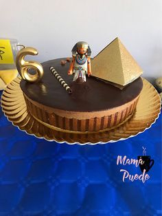 Tarta cumpleaños Egipto African Cake, Egyptian Party, Ideas Para Fiestas, 11th Birthday, Custom Cakes, Birthdays, Desserts, Projects, Male Birthday