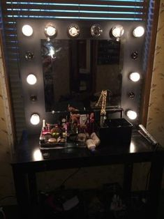 Vanity Mirror With Lights : 9 Steps - Instructables Best Vanity Mirror, Lighted Vanity Mirror, Oval Mirror, Mirrors, Double Sink Vanity, Vanity Sink, Bedroom Decor Lights, Mirror With Led Lights, Frameless Mirror