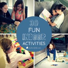 30 Indoor Kid Activities For When It's Too Hot To Play Outside AD
